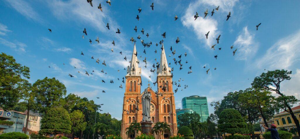 Saigon population: 13 million